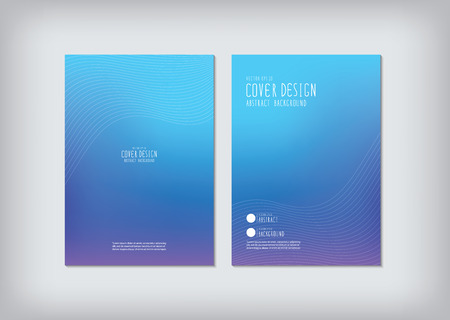 curved line: The annual report covers the business and graphic shapes like curved line vector.