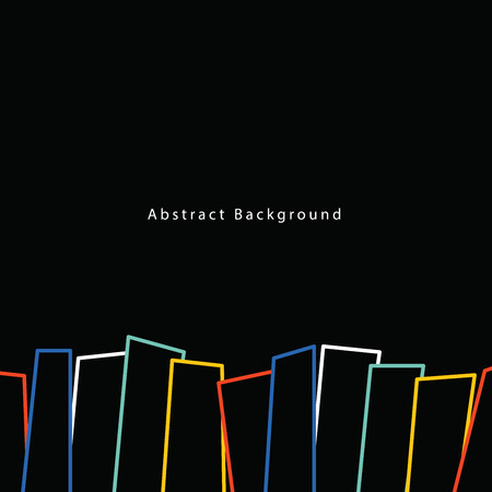 Abstract Background Poster square illustration vector. Background concept.
