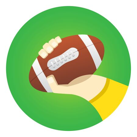 throwing: ball in the players hand before throwing