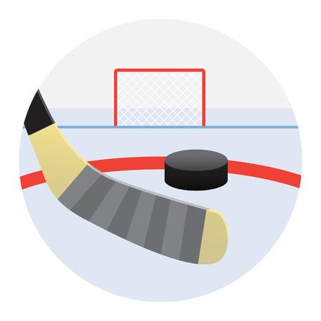 hockey goal: Hockey training shots on goal