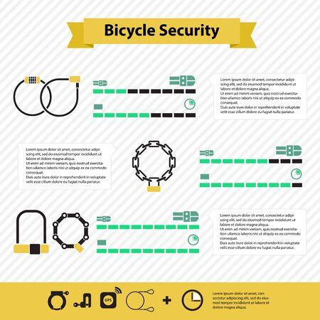 cracking: the degree of resistance to cracking bike locks Illustration