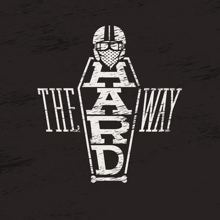 the way: leterin drawn the hard way