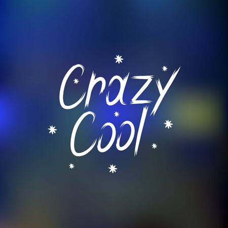 coo: hand drawn lettering crazy coo