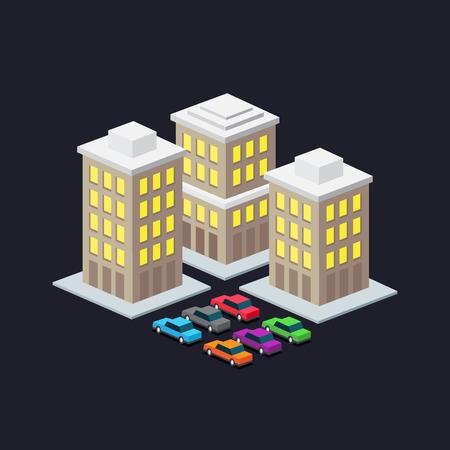 valet: valet parking in a big city