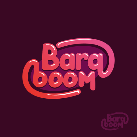to contemplate: exclamation bara boom! comic style or retro posters