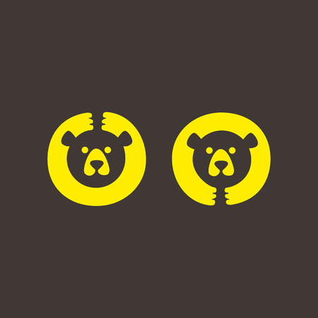 Funny bear for your logo, mascot