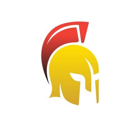 Firmar casco, fuerza de voluntad, para el gimnasio Ilustración de vector