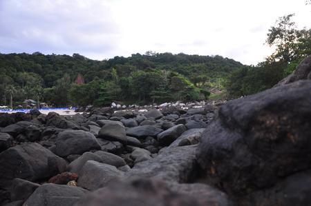 Beach near patong beach.