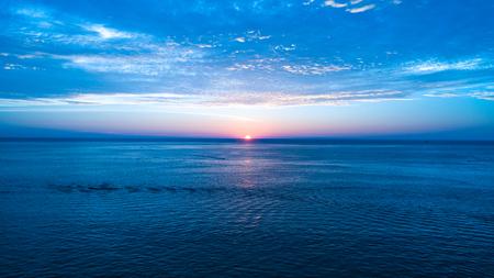 sunset at karon beach, Phuket, Thailand. December 2017.