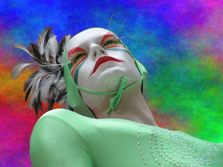 cirque: Cirque du soleil manichino