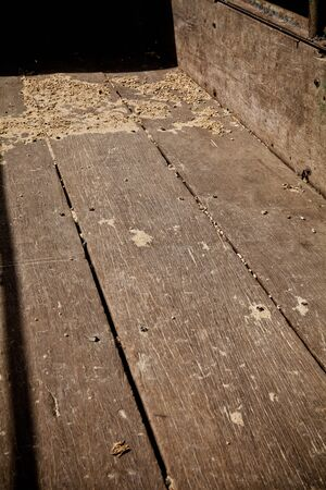 hushed: wood background