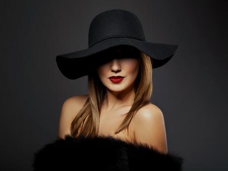 woman model in studio