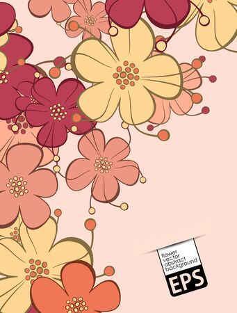 floral background Stock Vector - 18029512