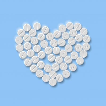Heart of pills