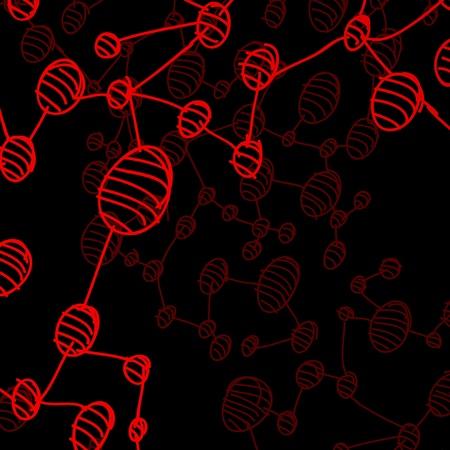 hand drawn DNA molecule Stock Vector - 18361206