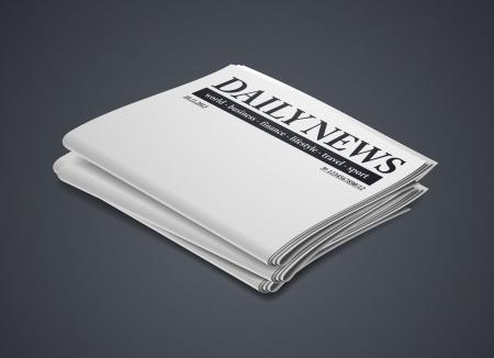 newspaper Stock Vector - 24029450