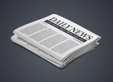 newspaper Stock Vector - 24029456