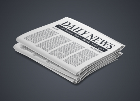 wastepaper: newspaper