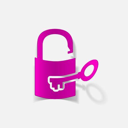 icono candado: icono de candado Vectores