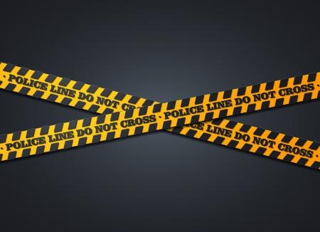 crime scene tape: police background