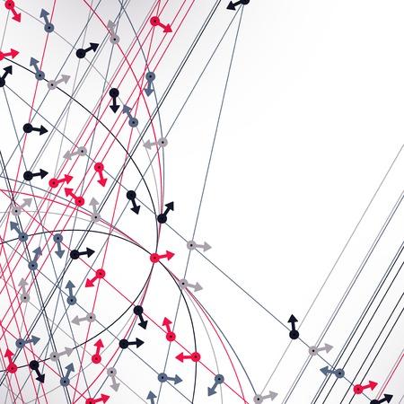 randomly: background with arrows randomly directed Illustration