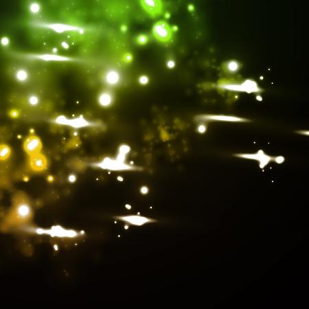meteor rain in neon style Stock Vector - 24017090