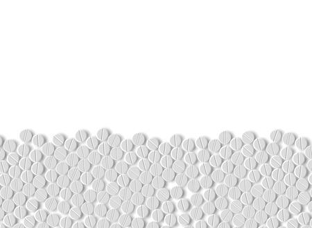 錠剤の現実的な背景 写真素材 - 24017838