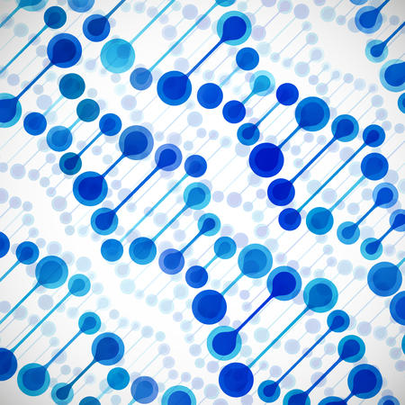 dna background: beautiful structure of the DNA molecule Illustration