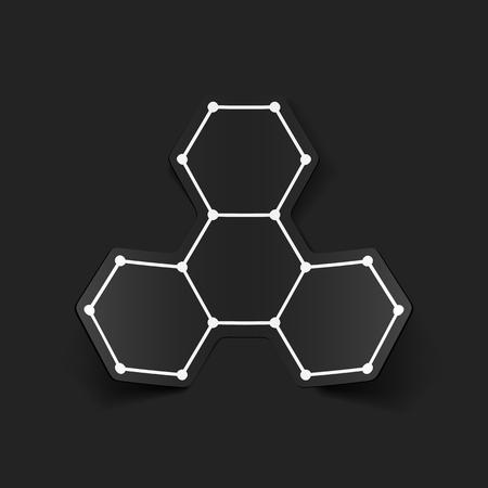 bases: molecular structure, sticker