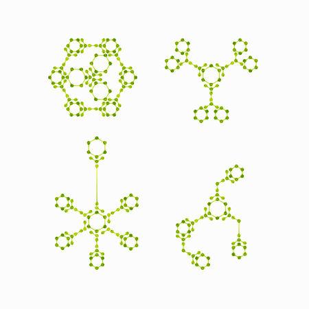 molecular structure Illustration
