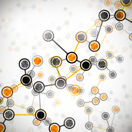 molecular structure Stock Vector - 24063254