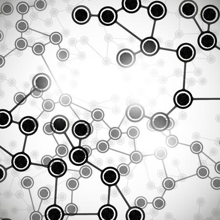 molecular structure Stock Vector - 24063282