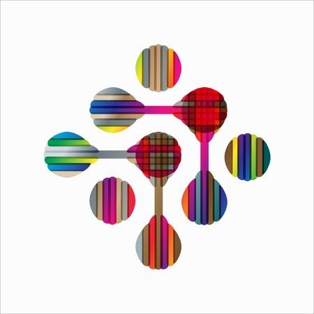 macromolecule: molecular structure, symbol