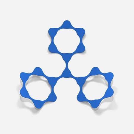 deoxyribonucleic acid: molecular structure, sticker