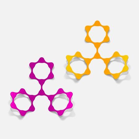molecular structure, sticker