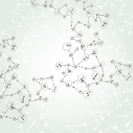 hand drawn DNA molecule Stock Vector - 24501313