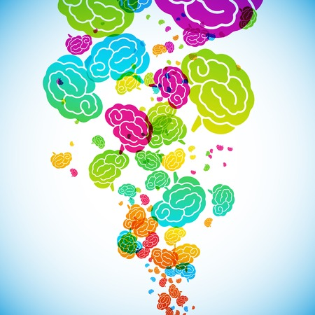 brainy: abstract background, brain