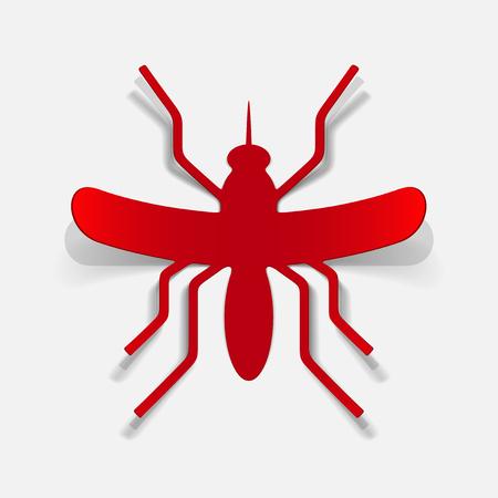realistic design element: mosquito Stock Vector - 25414599