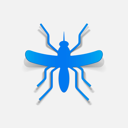 realistic design element: mosquito Stock Vector - 25509585