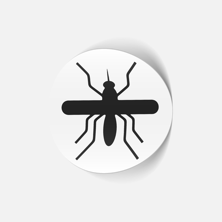 realistic design element: mosquito Stock Vector - 25509586