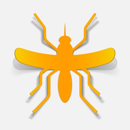 realistic design element: mosquito Stock Vector - 25626036