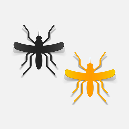 realistic design element: mosquito Stock Vector - 25626041