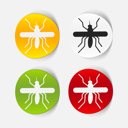 realistic design element: mosquito Stock Vector - 25626048