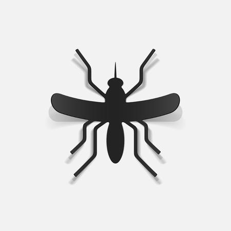 realistic design element: mosquito Stock Vector - 25626809