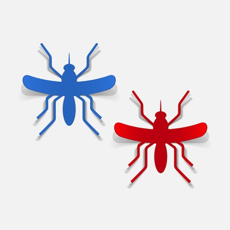 realistic design element: mosquito Stock Vector - 25626808