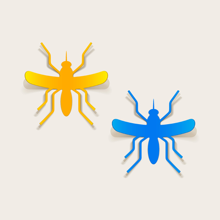 realistic design element: mosquito Stock Vector - 25626805