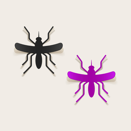 realistic design element: mosquito Stock Vector - 25626806