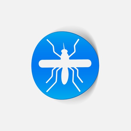 realistic design element: mosquito Stock Vector - 25627587