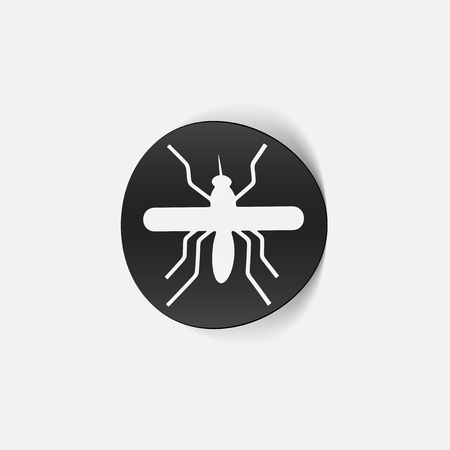 realistic design element: mosquito Stock Vector - 25627586
