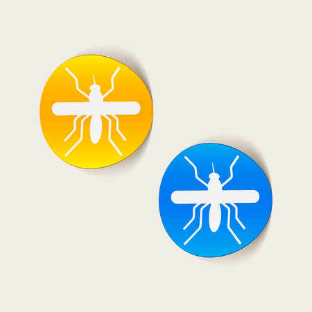 realistic design element: mosquito Stock Vector - 25627588